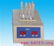 标准COD消解器(10管配150ml消解杯,5管配250ml消解杯)  型号:XP63-HH-Ⅲ
