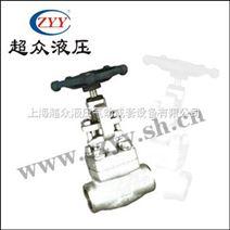 J61Y-800L BPN16-130锻钢截止阀