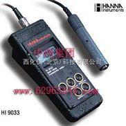 哈纳-防水便携式电导率测定仪  型 号:HANNA HI9033