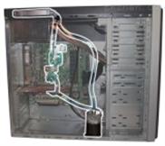 静音水冷电脑机箱