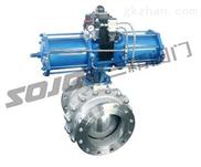 Q647F/H-不锈钢气动固定球阀