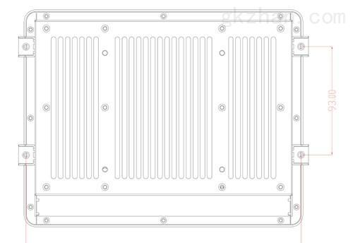 8.4寸低功耗宽温工业平板电脑工业触摸屏一体机