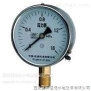 西安绿盛量测系统顶盖真空压力表YZ-100