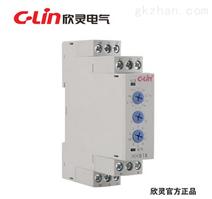 欣灵HHS18 多功能 电子式时间继电器 0.1秒-120小时可调 AC220V