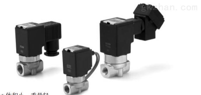 smc水用2通直动式电磁阀图片