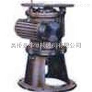 立式圆弧圆柱蜗杆减速机