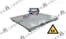 工业防爆电子地磅称- EXdllBT4本安型防爆平台秤