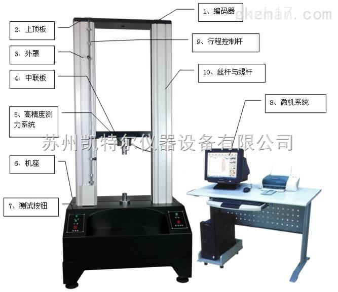 浙江5KN~50kN金属拉伸试验机厂家配置