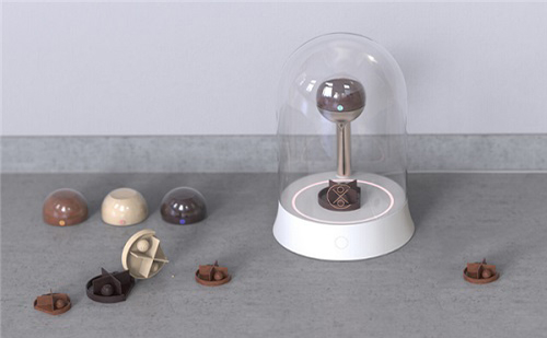 新型概念巧克力3D打印机 制作过程全透明