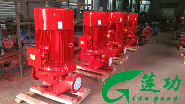 泵工作原理及用途介绍   前言:上海莲功泵业消防稳压泵是消防泵的一种