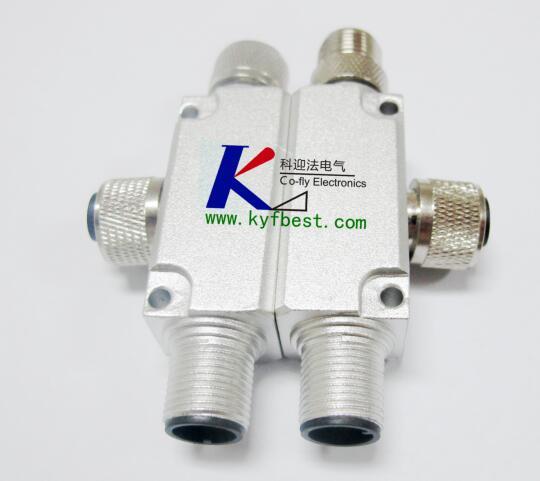 M12 Y-Distributor Connector