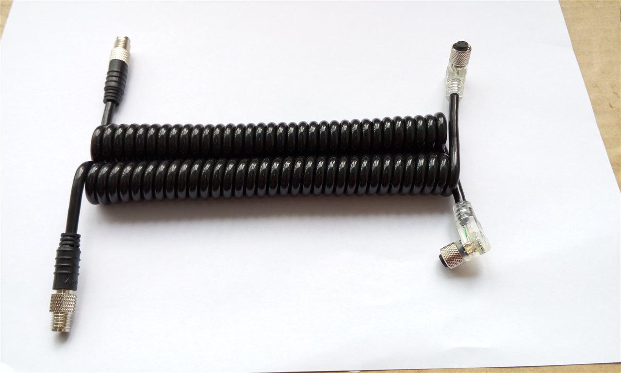 弹簧线电缆连接器