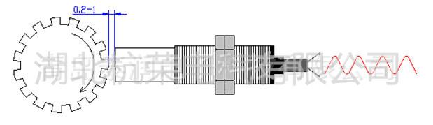 tcdm12-40磁电转速传感器