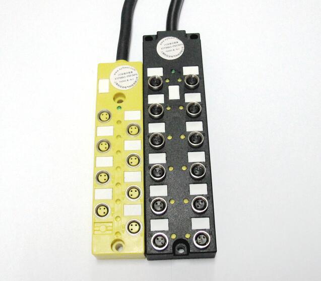 M8多接口分线盒12位独特优势  √采用高品质的材料,设计新颖,可满足各种复杂的要求  √端口为嵌入式设计,型面极低,非常节省空间