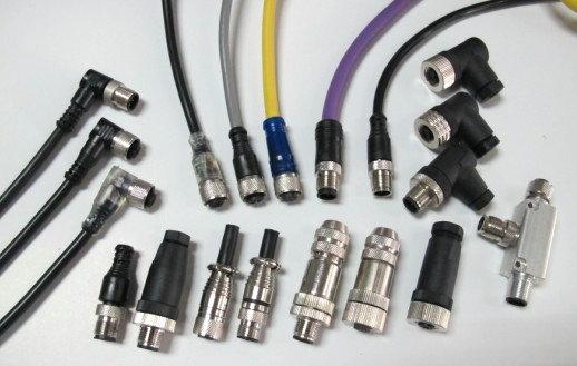 传感器M12插座
