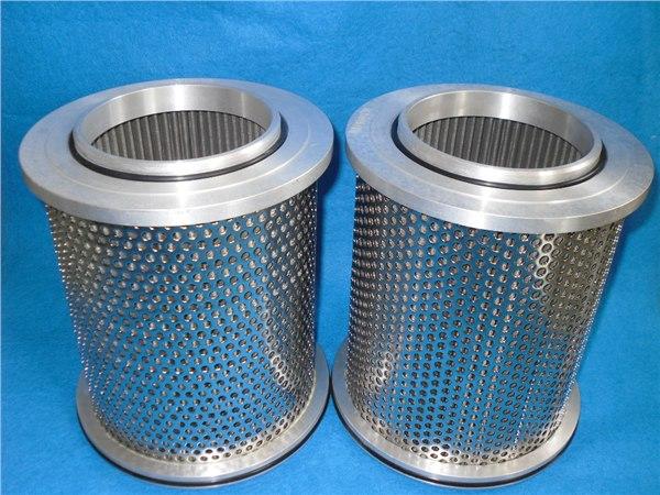 电厂不锈钢液压油滤芯图片