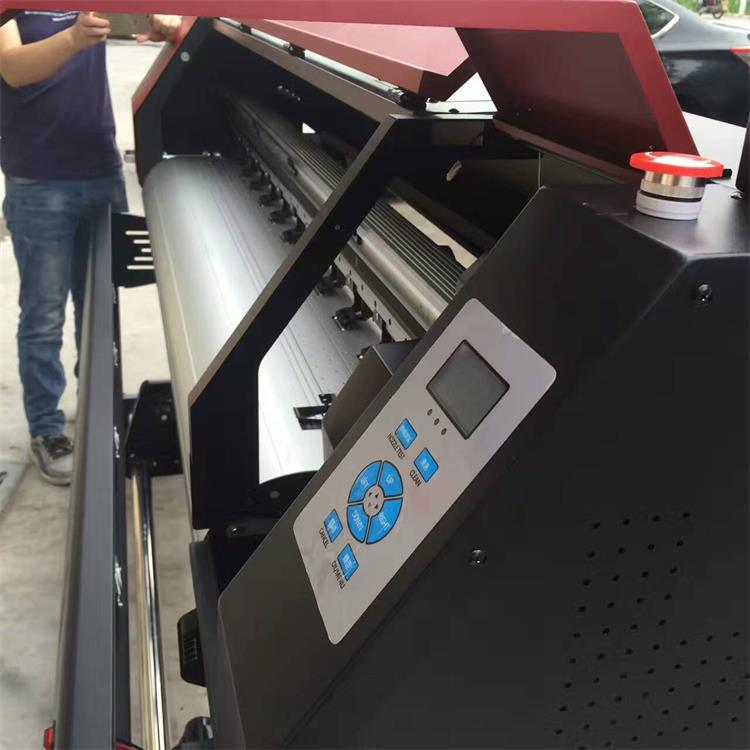 wy-1600 户外专用广告压电写真机 喷绘打印机 xp600喷头