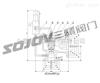 Ax46F(Y)-16不锈钢先导式安全阀